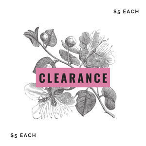 Other - $5 or 3/$12 Clearance!